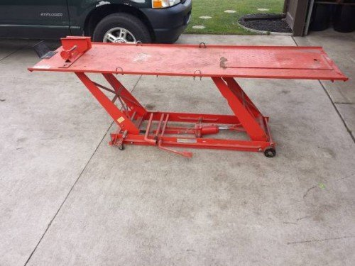 Craigslist Sioux Falls >> Motorcycle Hydraulic Lift Table For Sale in Clinton, Michigan